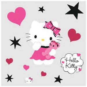 creating a hello kitty bedroom hello kitty bedroom decor couture wall decals at toystop