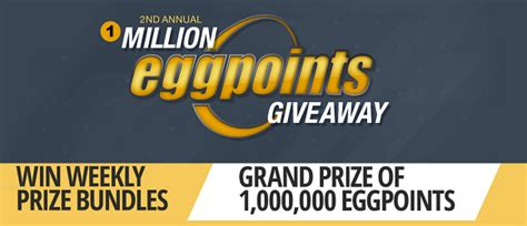 Newegg Giveaway 2017 - newegg s 2nd annual 1 million eggpoints giveaway
