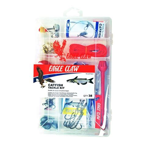eagle claw catfish tackle kit tk catfish1 the home depot