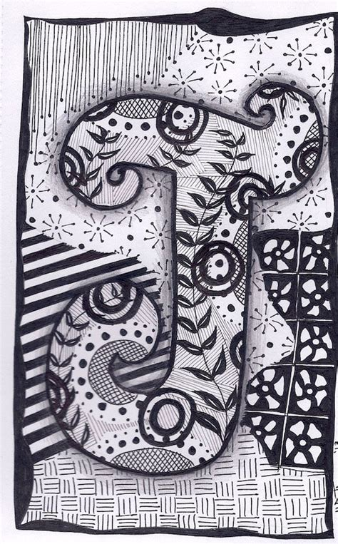how to make doodle name maker zentangle letters b