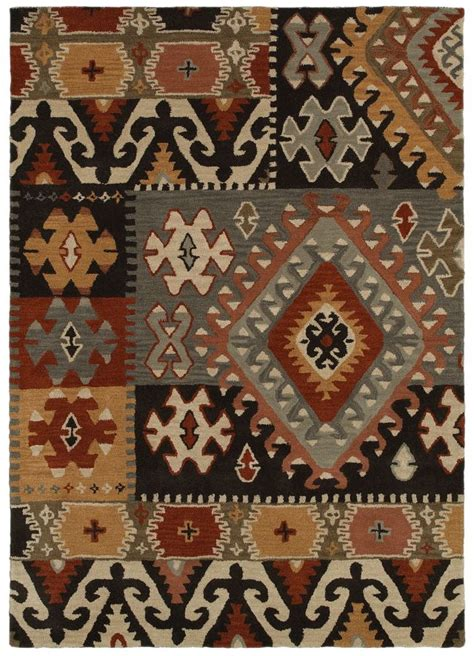 South Western Rugs by Southwestern Rizzy Rugs Southwest Grey Wool