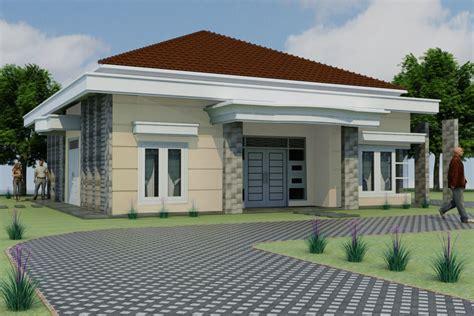 desain rumah 1 lantai luas contoh z