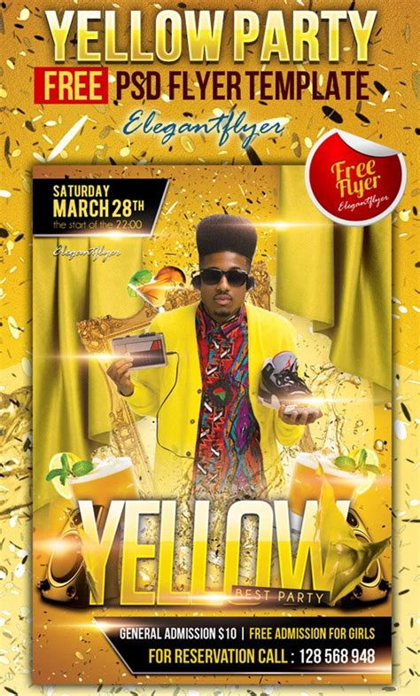 31 Free Party Club Flyer Templates Celebration Flyer Template Free