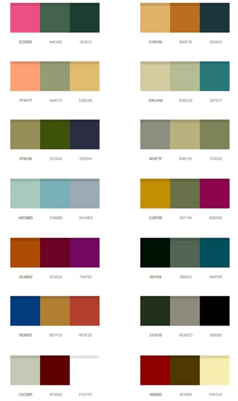 popular color the influence of most popular color palettes interior design