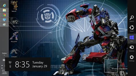 themes for windows 7 transformers free download transformers prime theme for windows 8 ouo themes