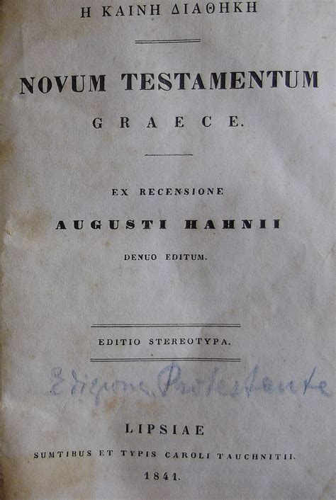 nuovo testamento in greco bibbie dell 800 la mostra della bibbia