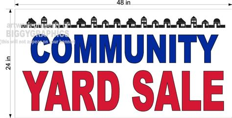 Subdivision Garage Sales by Community Garage Sale Sign Www Imgkid The Image