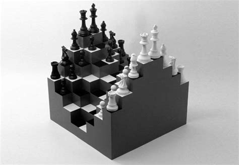 amazing chess sets 3d chessboard