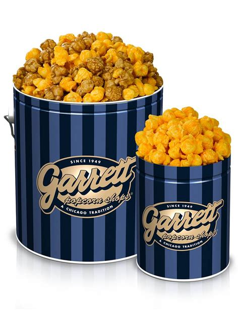 Garrett Popcorn Plain 1 Gallon Tin send an awesome care package to your college student with these items nbc news