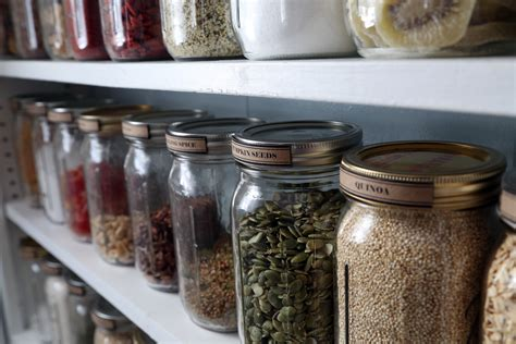 Jar Pantry by Pantry Organization With Jars House On Pine
