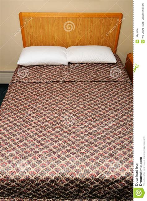 semi double bed generic semi double bed royalty free stock image image