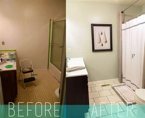 Diy Bathroom Makeover by Bathroom Makeover Diy Cheap Bathroom Rennovation Diy
