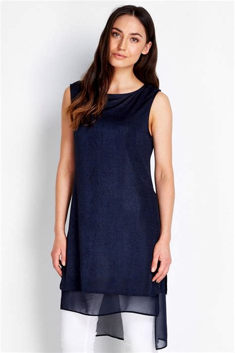 Set Sleeveless Knit Top Knit Dress navy sleeveless knit tunic tops clothing wallis