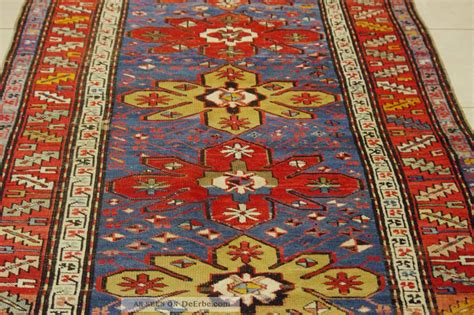 afghanische teppiche antik antik kazak teppich kaukasus 260x128cm antique caucasian