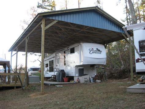 rv storage garage rv shelter rv garage kit arbor wood products cing
