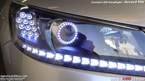 2013 honda accord led headlights exledusa custom led headlight honda accord 9th