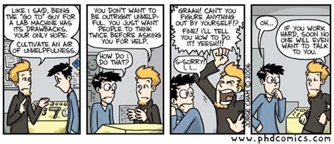 phd comics advisor piled higher and deeper