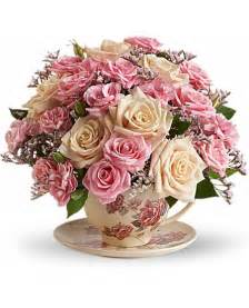 Flower Mylar Balloons - victorian teacup bouquet flowers victorian teacup flower