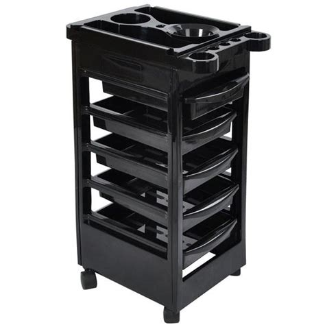 salon rolling storage trolley cart w 5 drawer the salon