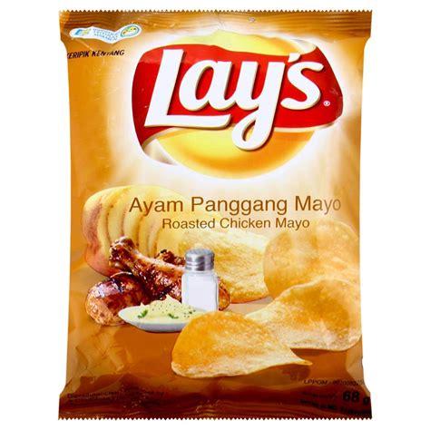 jual snack lays roasted chicken mayo harga murah kota