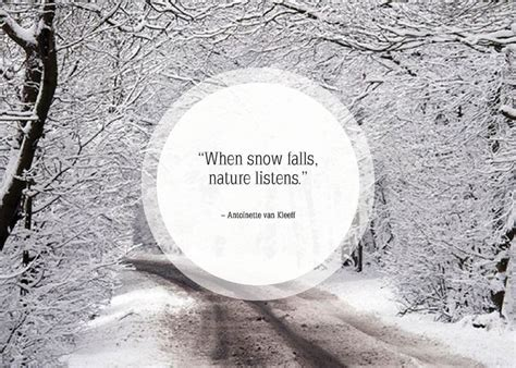 quotes about snow quotesgram