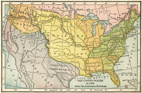 united states map louisiana purchase the project gutenberg ebook of stories of later american