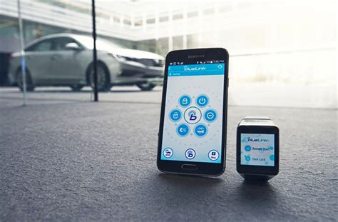 Blue Link Hyundai by Hyundai Announces Blue Link Android Wear App For Starting