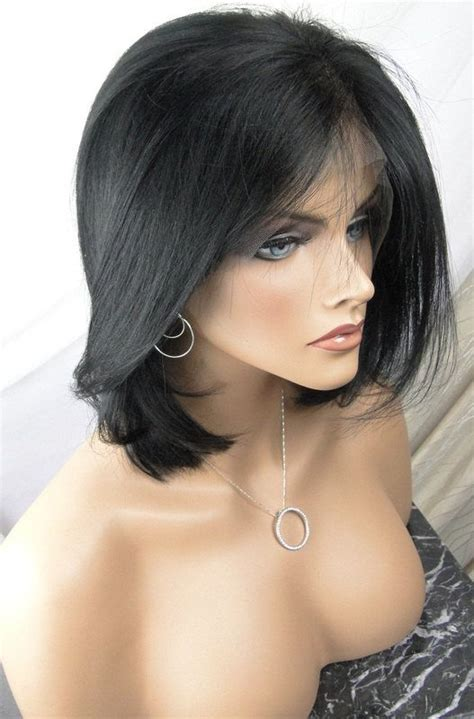 Custom Bob Cut Remy Lace front wig by HAIRLOXS on Etsy, $179.00   Halloween  tastic!   Pinterest