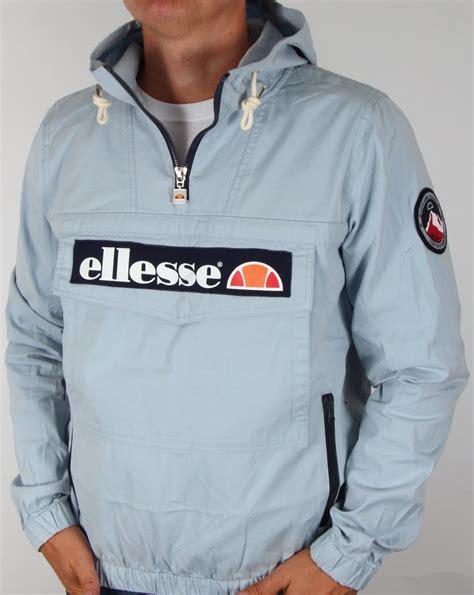 Cf261 Size M Ripped Blue Hotpants Import Realpic ellesse qtr zip smock jacket sky coat ski mens cagoul