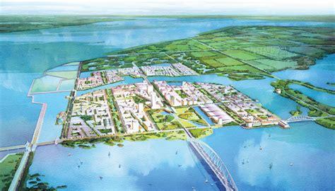 SOM Chongming Island Master Plan