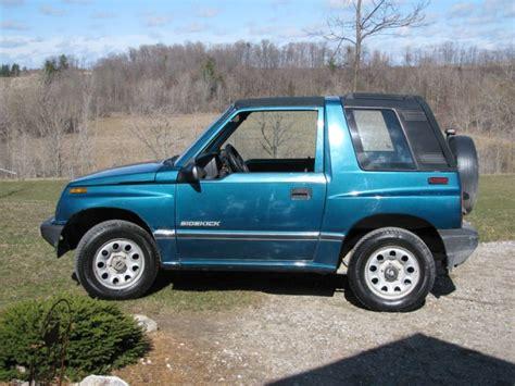 Suzuki Suv Canada 1994 Suzuki Sidekick Suv For Sale In St Ontario