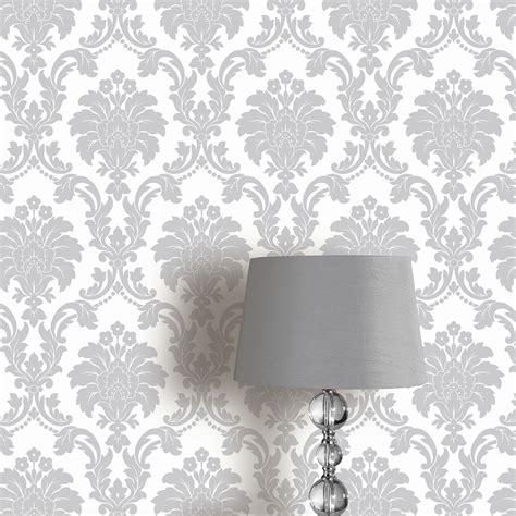 damask bedroom wallpaper arthouse romeo damask wallpaper feature wall decor bedroom