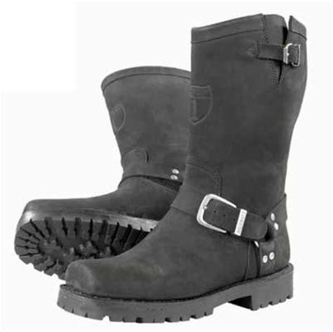 mc boots st 246 vlar mc skor trucker boots mc svart nubuk highway 1
