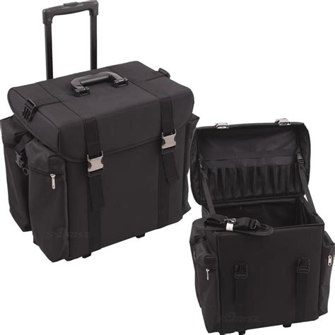 hair style tools bags c6402 soft side trolley 1680d rolling