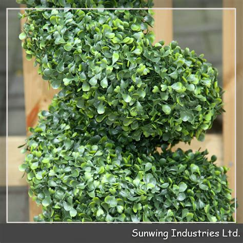cheap topiary trees artificial ornaments 2017 cheap artificial spiral boxwood