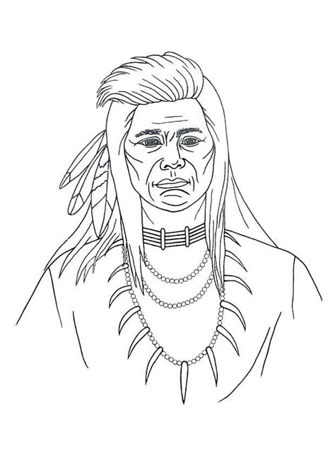 coloring page native american indian coloring pages native americans az coloring pages