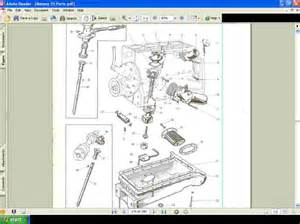massey ferguson mf 35 fe 35 tractor parts manual mf35 for sale