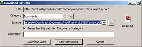 yii2 pdf layout make a report pdf in yii2 latcoding com