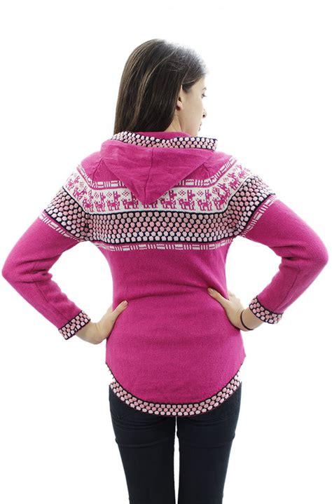 knit hoodie womens hoodie alpaca wool knitted hooded fitted shakira