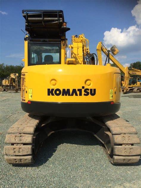 zero tail swing excavator for sale komatsu pc138 thirteen ton zero tail swing excavator for