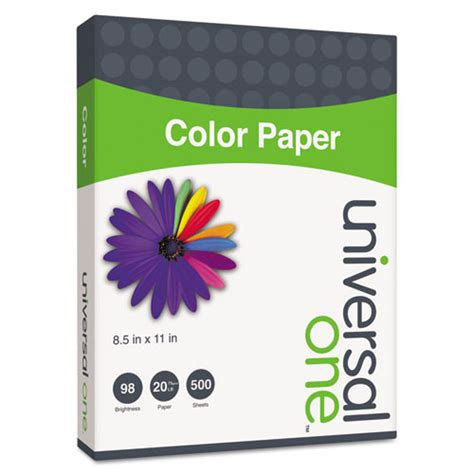 colored paper 20lb 8 1 2 x 11 goldenrod 500 sheets