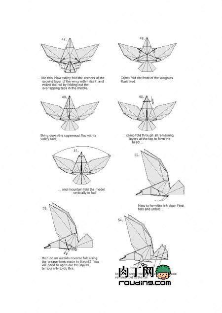 1000 ideen zu origami eagle auf origami