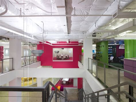 Advertising Agency Office Interiors by Top 10 Most Inspirational Office Space Designs