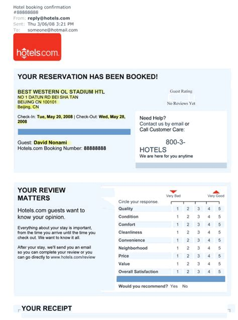 hotel confirmation email template hotel confirmation related keywords suggestions hotel