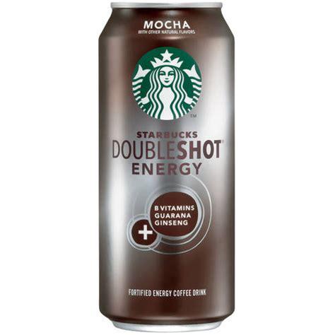 energy drink at starbucks starbucks doubleshot energy mocha fortified energy coffee