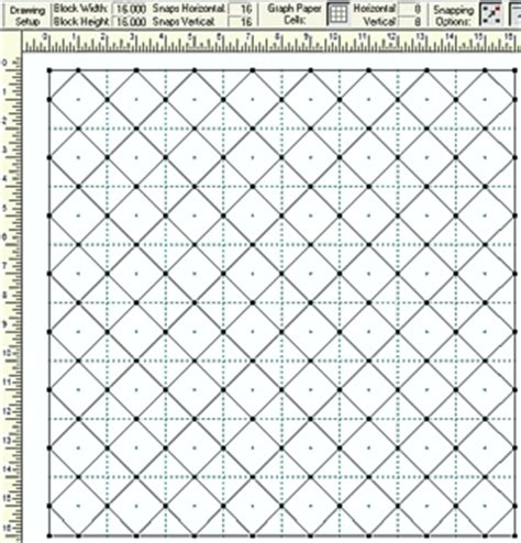 Quilting Graph Paper by Quilting Graph Paper The New Quilting Design