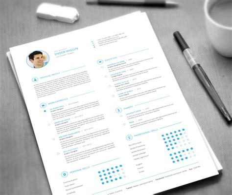 envato resume templates professional resume templates design tips