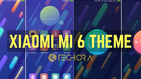 xiaomi official themes how to install official xiaomi mi 6 stock theme on any