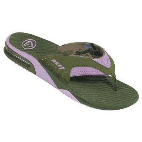 womens reef fanning sandals reef fanning sandal s evo outlet