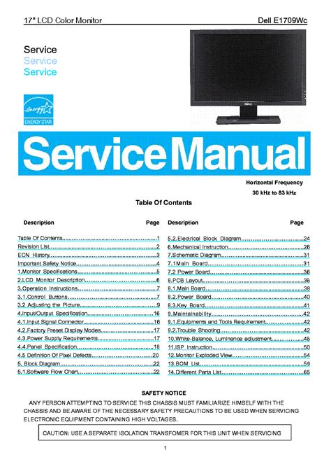 service manual do it yourself repair and maintenance 1993 chevrolet blazer service manual do dell e1709wc lcd monitor service manual download schematics eeprom repair info for